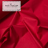 Однотонная бязь красного цвета 135г/м2 №167