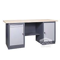 Верстак (промышленный стол) 41 Д/МД 850(h)х1800х620 мм