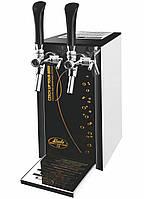 Аппарат розлива напитков для домашнего бара 25 л/ч - Pygmy 25/K Exclusive, с насосом, 2 кр., Lindr, Чехия
