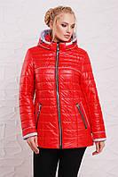 Курточка женская 210 красный