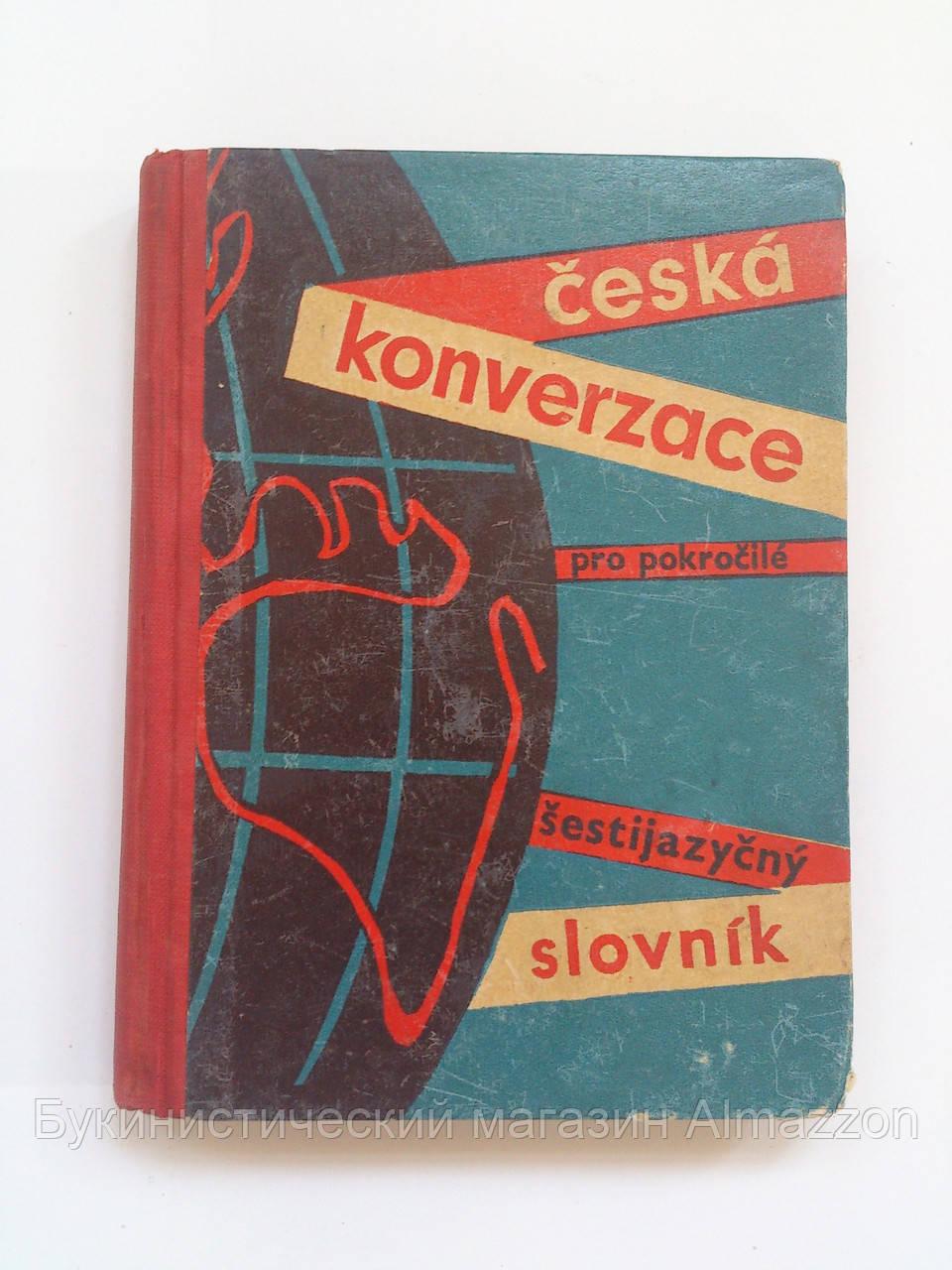 Česka konverzace pro pokrocile sestijazycny slovnik