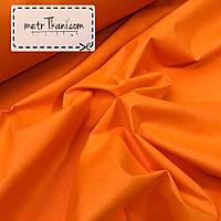 Однотонная польская ткань рыжего цвета  № 619