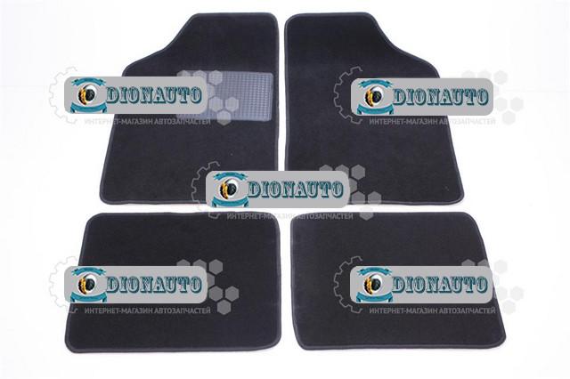 Коврик салонный универс ворс C черный комплект 4шт  (5109130-00)