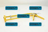 Пистолет для выдавливания силикона рамообразный VOREL  (09150)