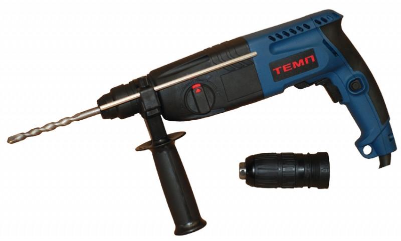 Перфоратор прямой Темп ПЭ-780 ДФР