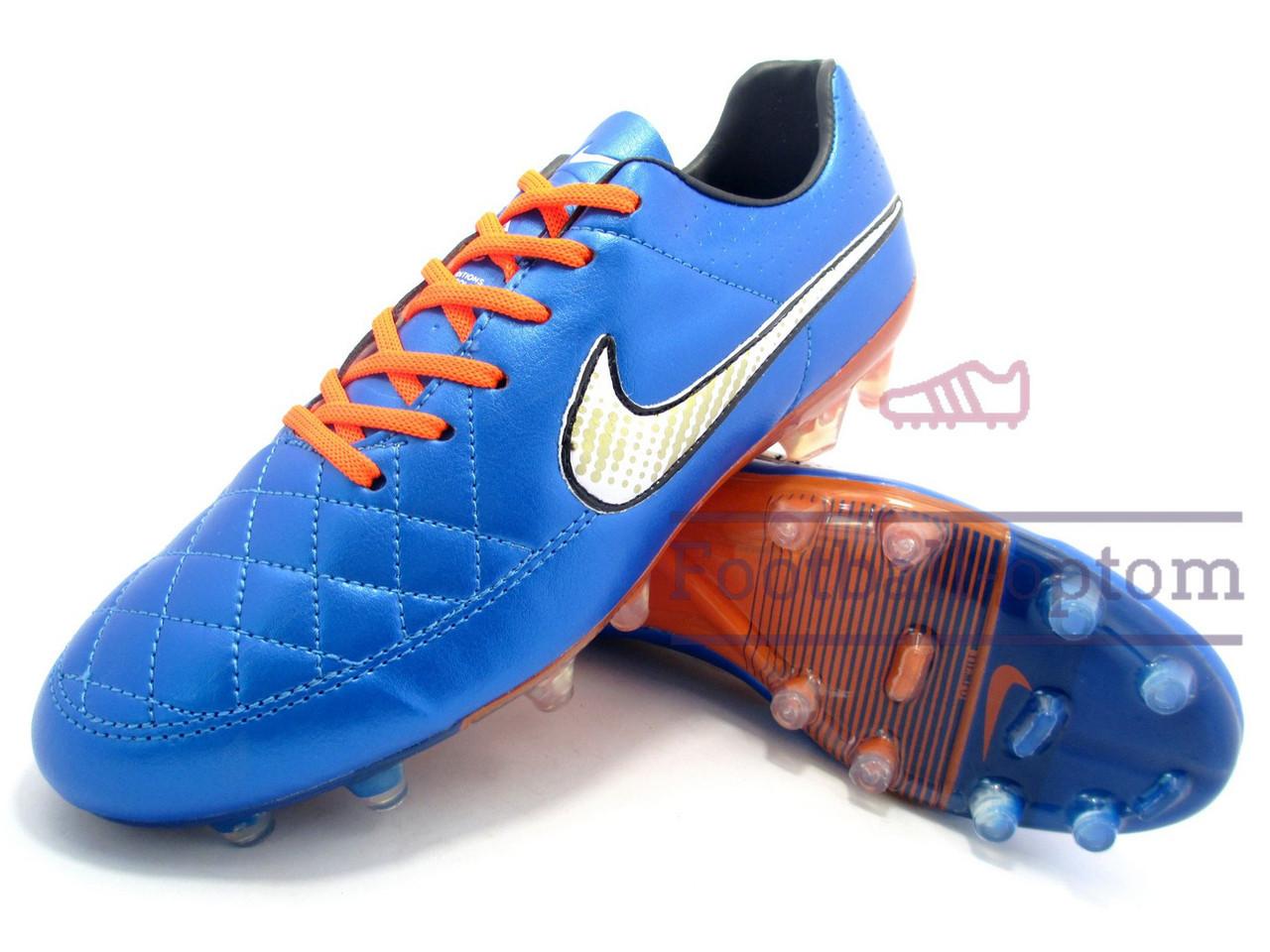 Футбольные бутсы (копы) найк, Nike Tiempo , цена 39  , купить в ... 022f02a82d4