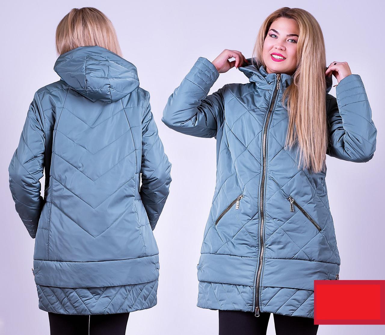 Демисезонная куртка 52-58р