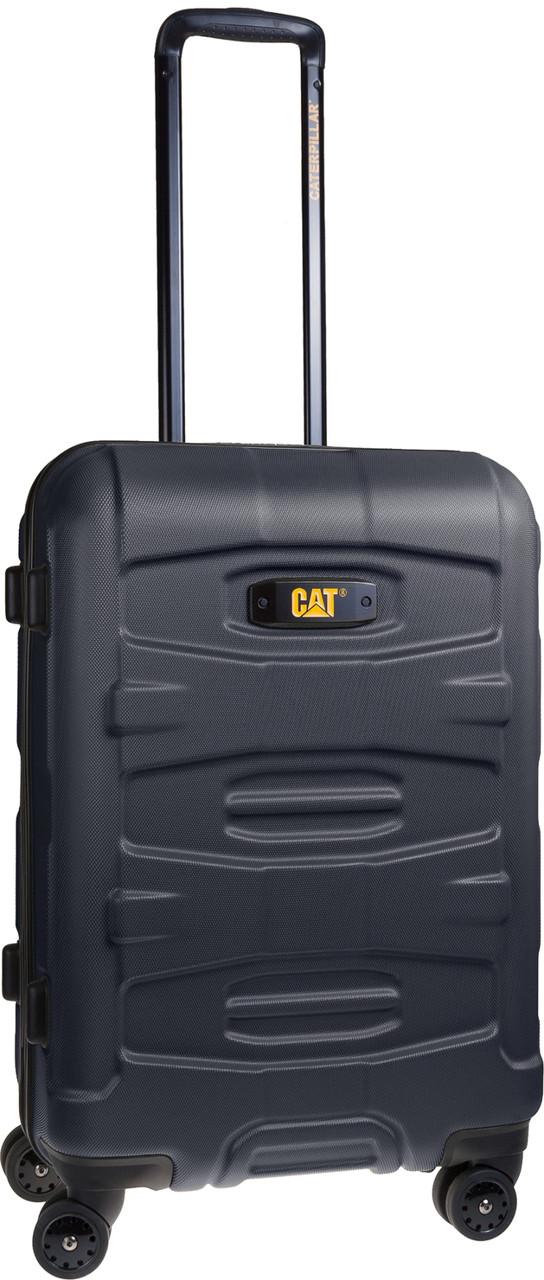 Чемодан поликарбонат М черный 83381.01 Cat