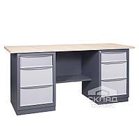 Верстак (промышленный стол) 41 C2Б/С2Б 850(h)х1800х620 мм