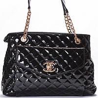 Женская сумка CHANEL  черного цвета