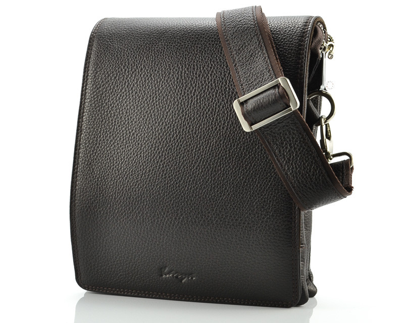 Мужская сумка коричневого цвета Karya 0366-39 (Турция)