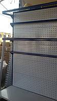 Стеллаж торговый пристенный - 1250 мм