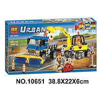 "Конструктор Bela 10651 аналог LEGO City Сити 60152  ""Уборочная техника"", 323детали"