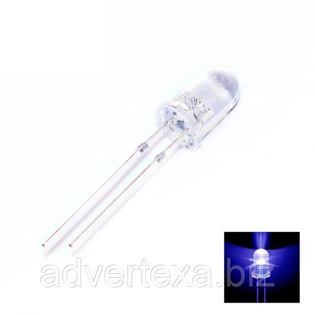 Світлодіод 5 мм синього світіння LED