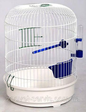 Клетка для птиц РОНДО Лори круглая 325х440 мм, фото 2