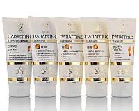 Набор косметики для парафинотерапии 4 тюбика по 200 мл - Ваниль - СКИДКА 6 %