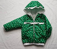 Детская куртка весна/осень на девочку 3-5 лет оптом