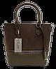 Интересная женская сумочка DAVID DJONES бежевого цвета IIR-000678