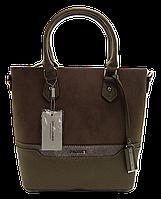 Интересная женская сумочка DAVID DJONES бежевого цвета IIR-000678, фото 1
