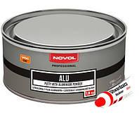 Шпатлевка Novol Alu с добавкой алюминиевой пыли