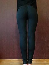 Трикотажные лосины женские №1/1 (норма), фото 3