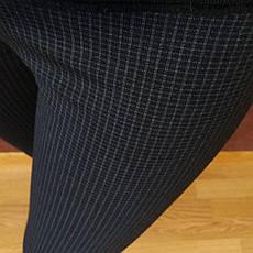 Трикотажные лосины женские №1/1 (норма), фото 2