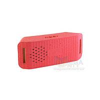 Портативная Bluetooth колонка беспроводная Music Y-3 (microSD, USB, FM) Красный