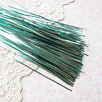 """Бить, металлическая полоска, тесьма для вышивки """"Бирюза"""" 1 мм - 60 см, 10 шт"""