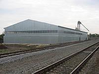 Строительство зернохранилищ в Киеве