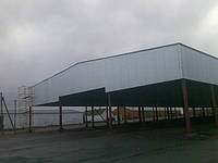 Строительство навесов в Чернигове