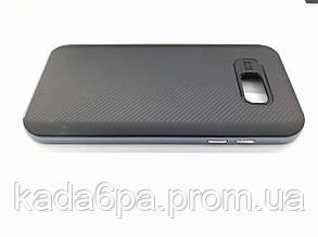 Чехол для Samsung Galaxy A7 2017 A720 A720F black/blue