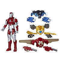 Большой набор Железный человек Марвел Marvel Titan Hero Series Iron Man Combat Pack