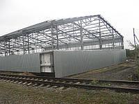 Строительство ангаров в Житомире