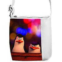 Сумка  с принтом Пингвины 2