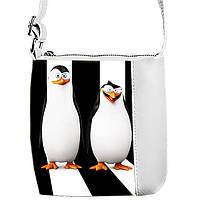 Сумка для девочки с принтом Пингвины Мадагаскара