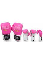 Перчатки боксерские PU на липучке EVERLAST BO-5035