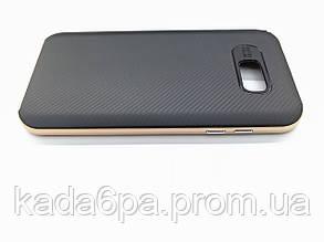 Чехол для Samsung Galaxy A7 2017 A720 A720F black/gold