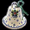 Колокольчик большой керамический Christmas garland