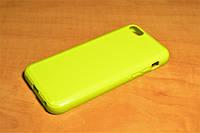 TPU чехол для iPhone 5C (Салатовый)