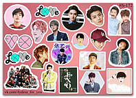 Stickers Pack EXO #172, фото 1