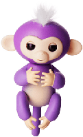 Обезьянка fingerlings фиолетовая