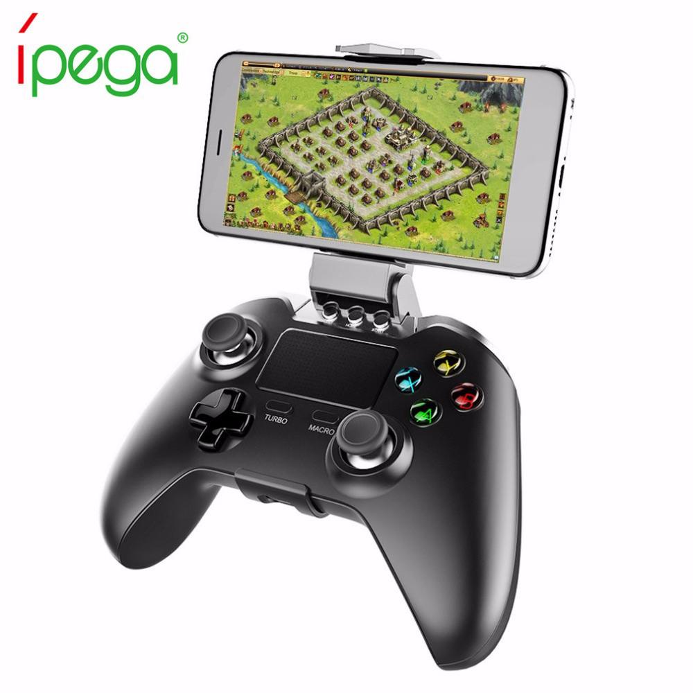 IPEGA PG - 9069 беспроводной джойстик геймпад с сенсорной панелью и вибрацией для PC, Android, TV Box