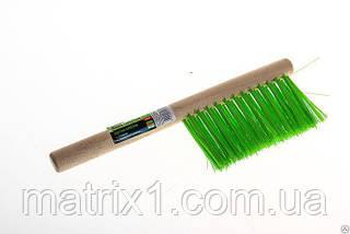 Щетка-сметка 2-рядная, 280 мм, деревянная ручка СИБРТЕХ