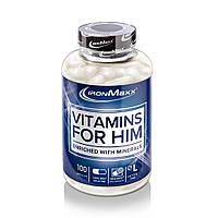 IronMaxx Витамины для Мужчин Vitamins for Him 100 caps