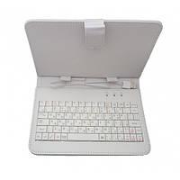 Чехол клавиатура для планшетов 8 дюймов MicroUSB MiniUSB