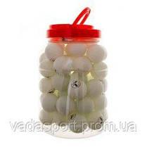 Шарики теннисные   (60 шт в банке) CH-2460