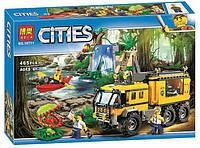 Конструктор Bela 10711 Город Передвижная лаборатория в джунглях (аналог Lego City 60160)