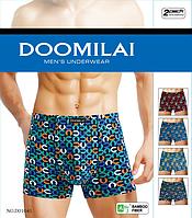 Мужские трусы Doomilai хлопок+бамбук АРТ.1041