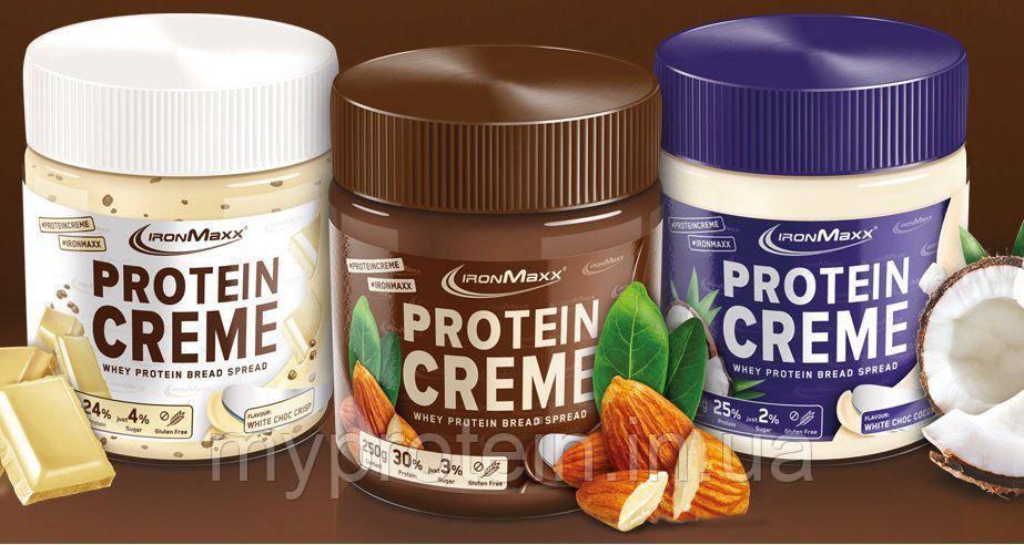 IronMaxx Протеиновая Паста Protein Creme 250 g