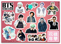 Stickers Pack BTS K-Pop #187